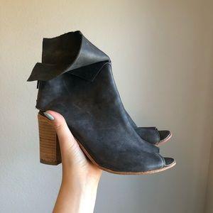 Free people peep toe heels